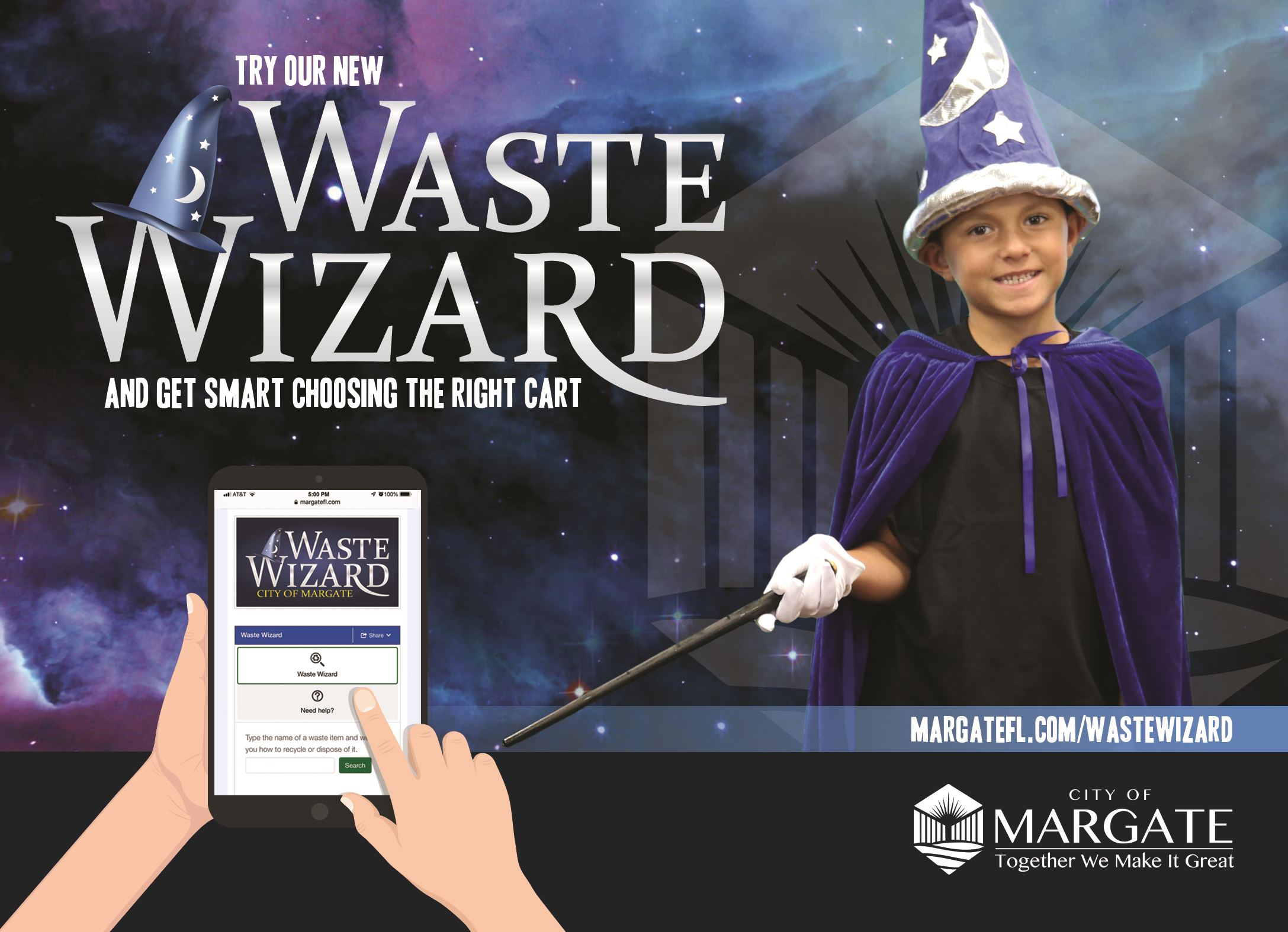 Try our new Waste Wizard