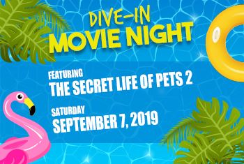 Dive-In Movie Night September 7 2019