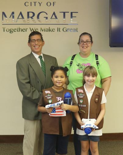 Pledge of Allegiance Girl Scout Troop 10269