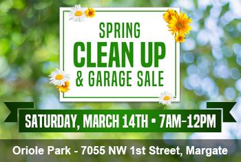 Spring Clean up and Garage Sale 2020