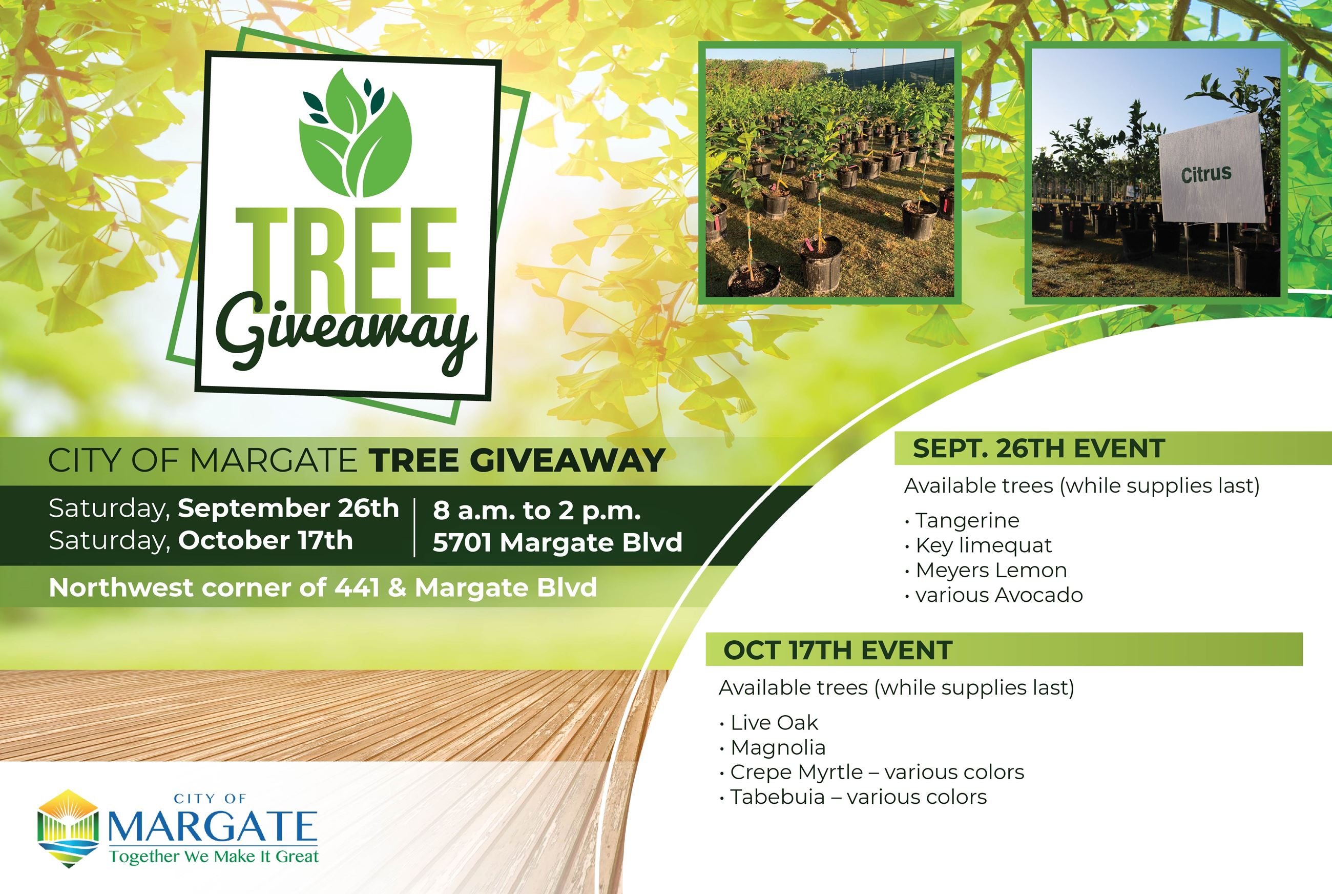 Tree giveaway 2020