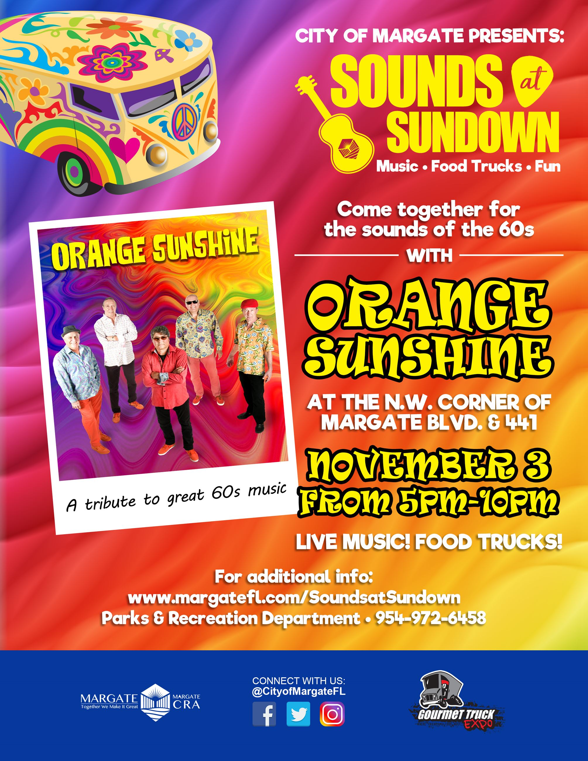 Sounds at Sundown 2018 - Orange Sunshine Band
