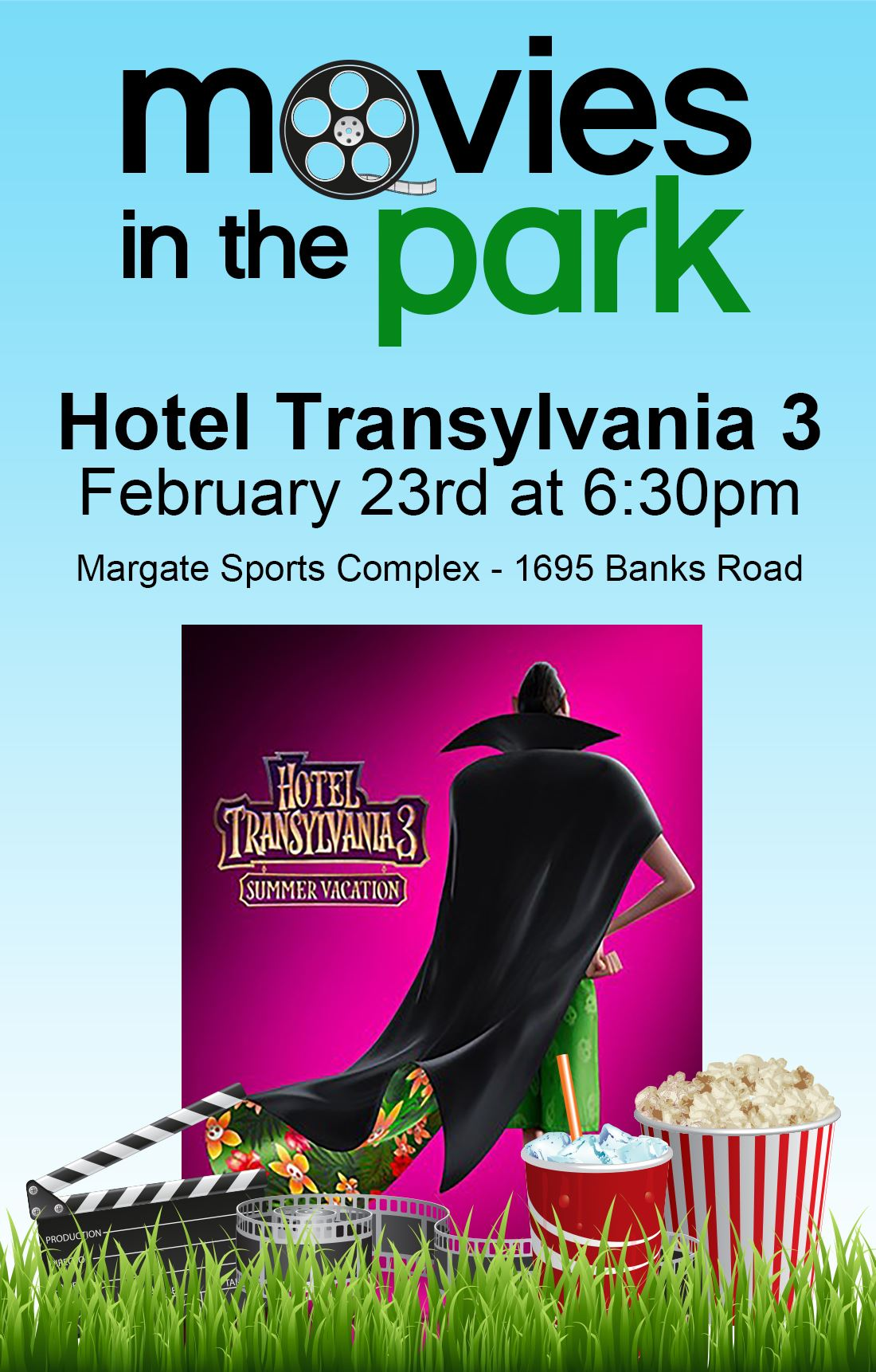 Movies In The Park 2019 Hotel Transylvania