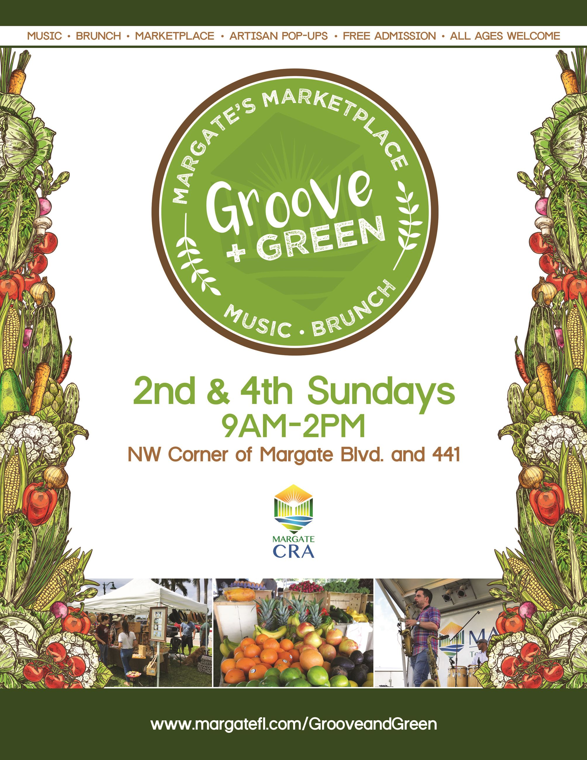 Groove and Green Flyer