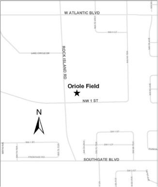 Oriole Field Map